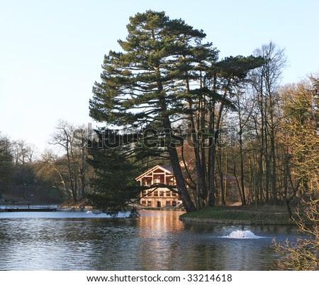 Gorgeous House Lake Stock Photos, Gorgeous House Lake Stock ...