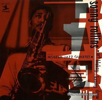 ROLLINS, SONNY with the modern jazz quartet