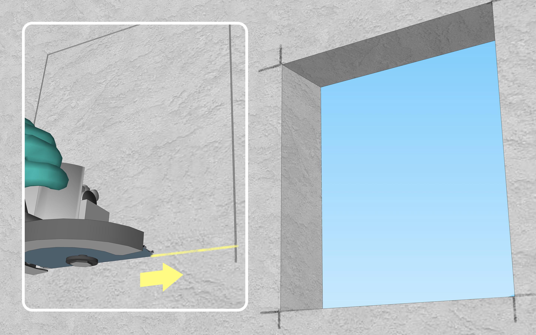 Cut Concrete Step 4