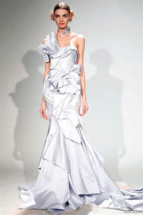 Marchesa Fall/Winter 2011 Dresses   Wedding Inspirasi