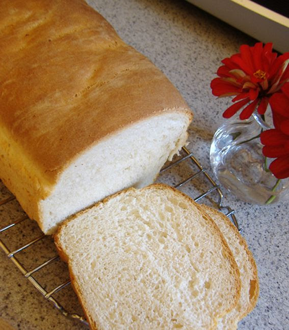 Simple and easy white bread | Tasty Recipes