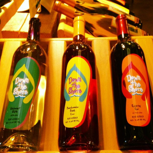 'Down The Shore' Wines from #Laurita #Winery in New Jersey