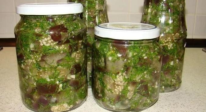 Баклажаны как грибы, быстрого приготовления с чесноком...