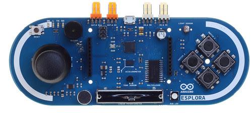 Arduino Esplora Front