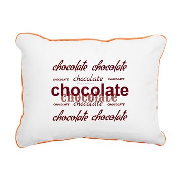 Celebrate Chocolate Rectangular Canvas Pillow