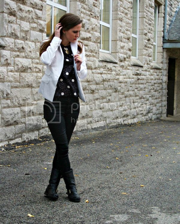 Sequin Polka Dots // SideSmile Style