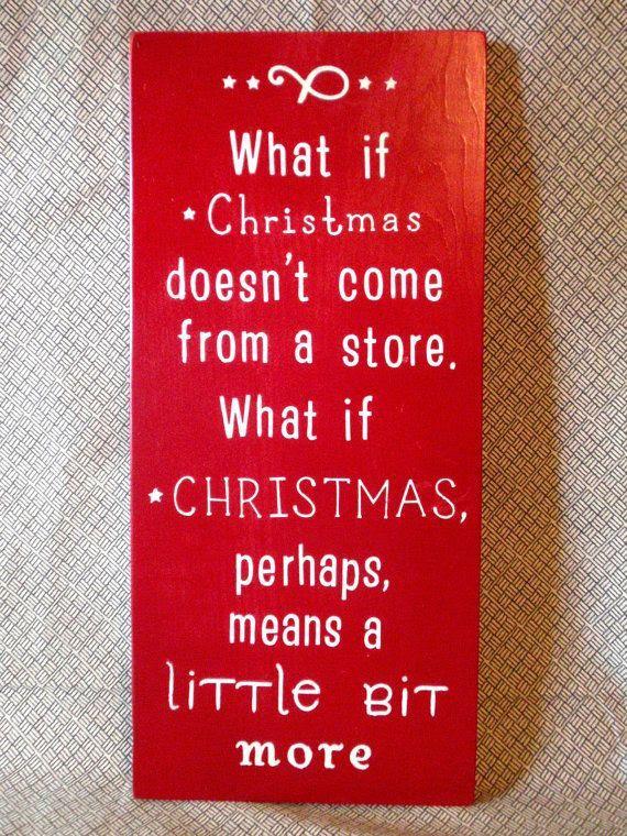 Grinch Christmas Quote - Wooden Sign | JordanDesignsForLove Etsy shop |