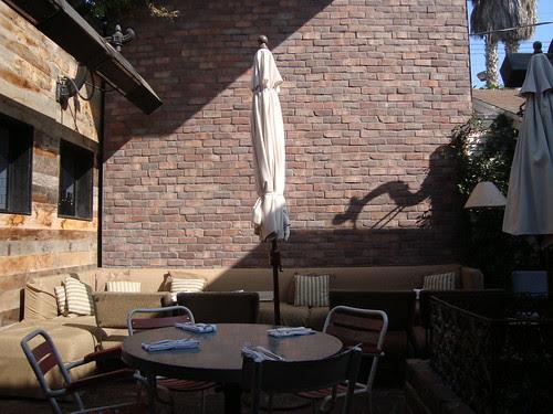 Empty Tables at Gjelina