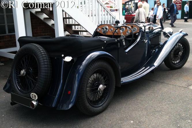 MG KN University Motors Speed Model, Brooklands Double Twelve
