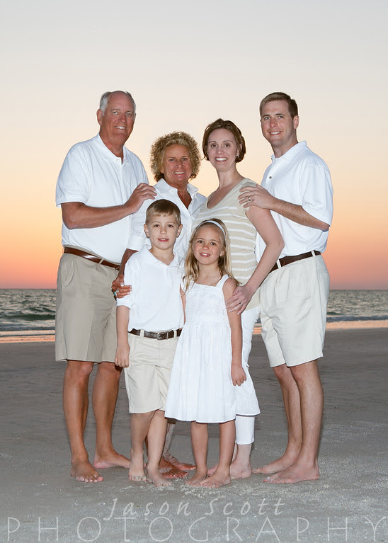 Vieth Family on Siesta Key, March 2013