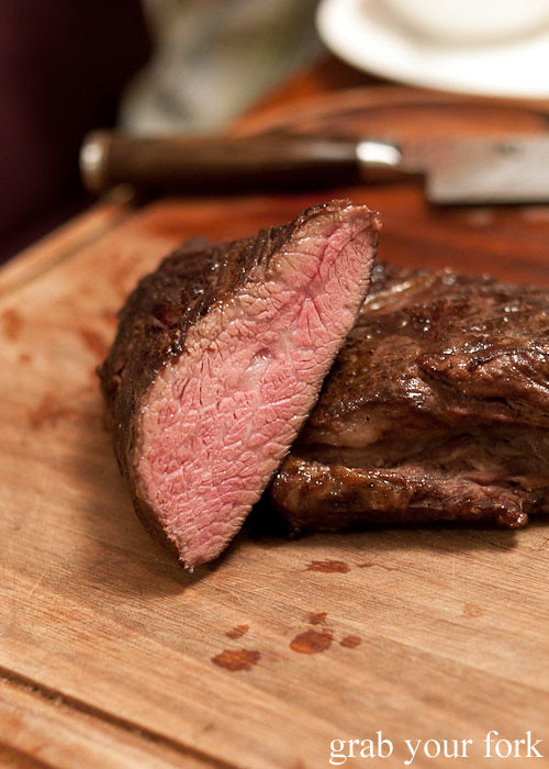 sous vide tri-tip steak