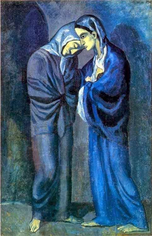 UKDHM - Pablo Picasso, Blue Period Art and Depression