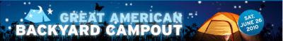 Great American Backyard Campout logo