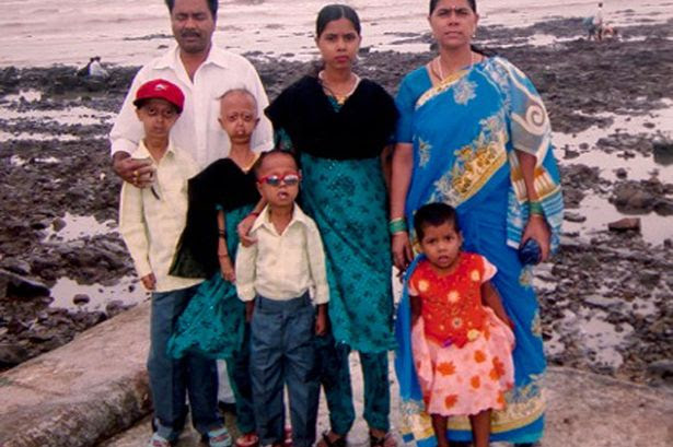 Ali Hussain with his family