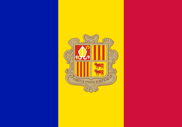 Drapeau d'Andorre