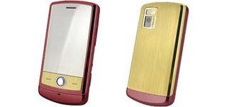 LG Iron Man Phone in 18-Karat Gold