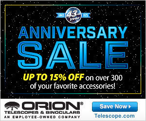 Save Big During Orion's 43rd Anniversary Sale