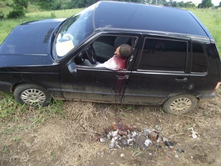 Fábio Sem Terra foi assassinado em estrada que dá acesso a Palmeirinha(Foto: Iguaí Mix)