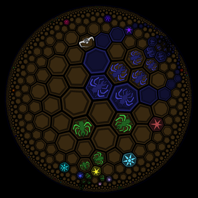 army movement in the Hive