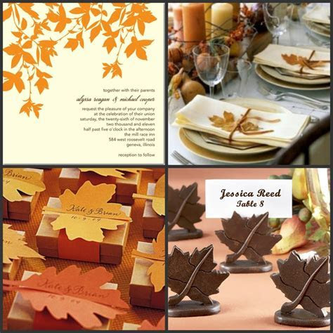 Rhodeshia's blog: Autumn Themed Wedding