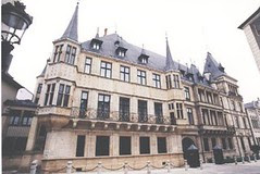 Palais Grand Ducal, Luxembourg City, Luxembourg