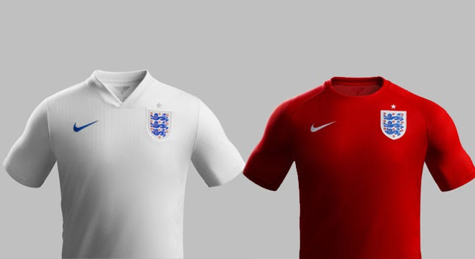 camisa Inglaterra Copa do Mundo Blog