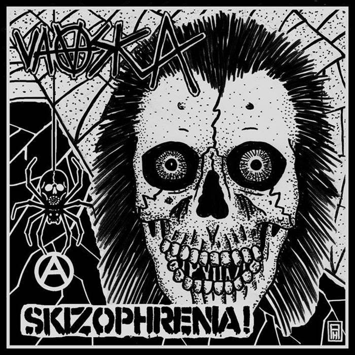"Split 7"" with Skizophrenia cover art"