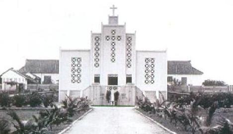 Nhà thờ Qui Hòa năm 1937