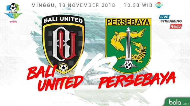 Bali United Vs Persebaya Surabaya