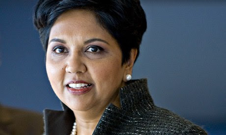 Indra Nooyi, chair and CEO of PepsiCo