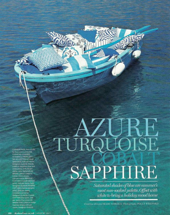 Azure - Turquoise - Cobalt - Sapphire