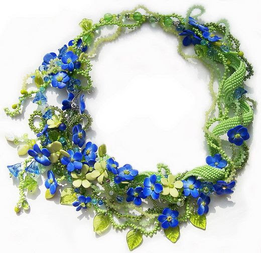 How Gorgeous!!     unique beadwork by Yuliya Galushchak
