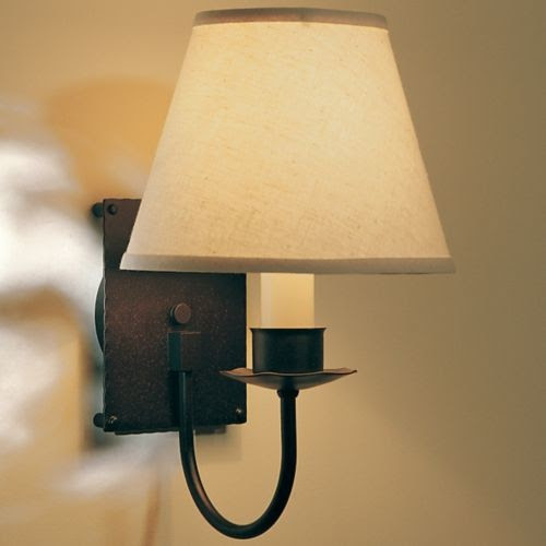 Single Light Wall Sconce With Shade - contemporary - wall sconces ...