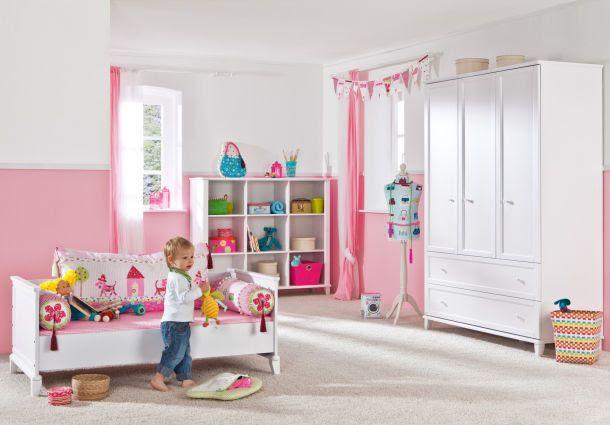 kleine kinderzimmer kinderzimmer ideen mdchen wandfarbe, Wohnideen design
