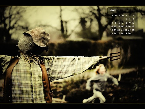 "April 2010 Desktop Calendar by Ian Livesey © All rights reserved. [click to visit the Flickr page then click ""All Sizes"" to download the size for your desktop]"