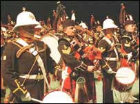 Traditional Scottish celebrations at the Military Tattoo
