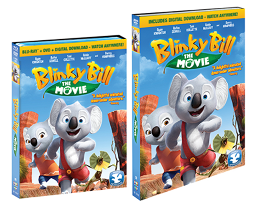 Enter the Blinky Bill: The Movie Giveaway. Ends 11/4