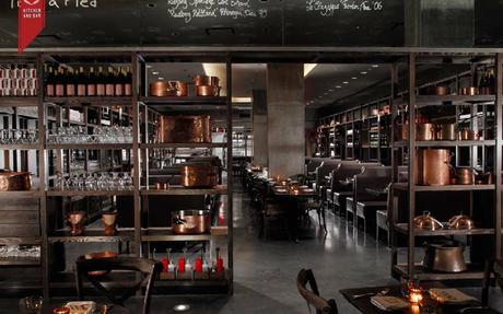 Award Winning DBGB Kitchen And Bar In New York | Restaurant Design