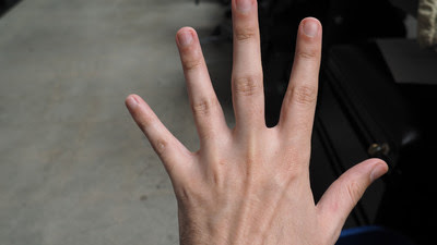 Science Says I Have the Hands of an Asshole