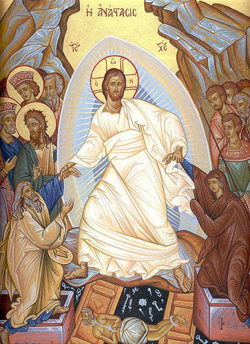 Icon of the Resurrection by Surgun100 (Wikipedia)