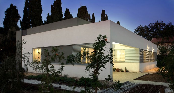Contemporary Handel Family Residence in Emek Israel by SaaB ...