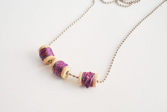 Mini Spool Necklace