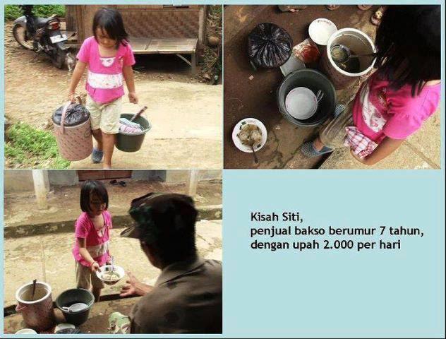 Siti Penjual Bakso Cilik