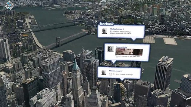 Aplikasi Terbaru Apple : 3D GPS Facebook Untuk iPhone