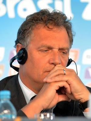 Coletiva FIFA Copa do Mundo Jerome Valcke (Foto: André Durão)
