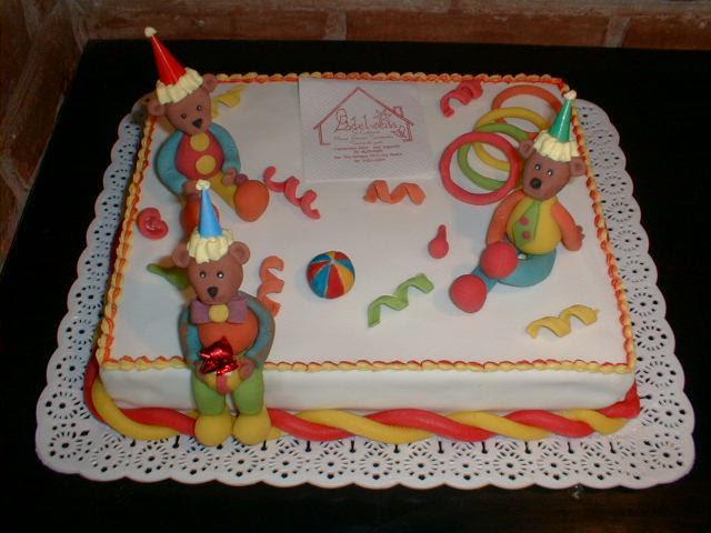 Tortas de cumpleaños con ositos