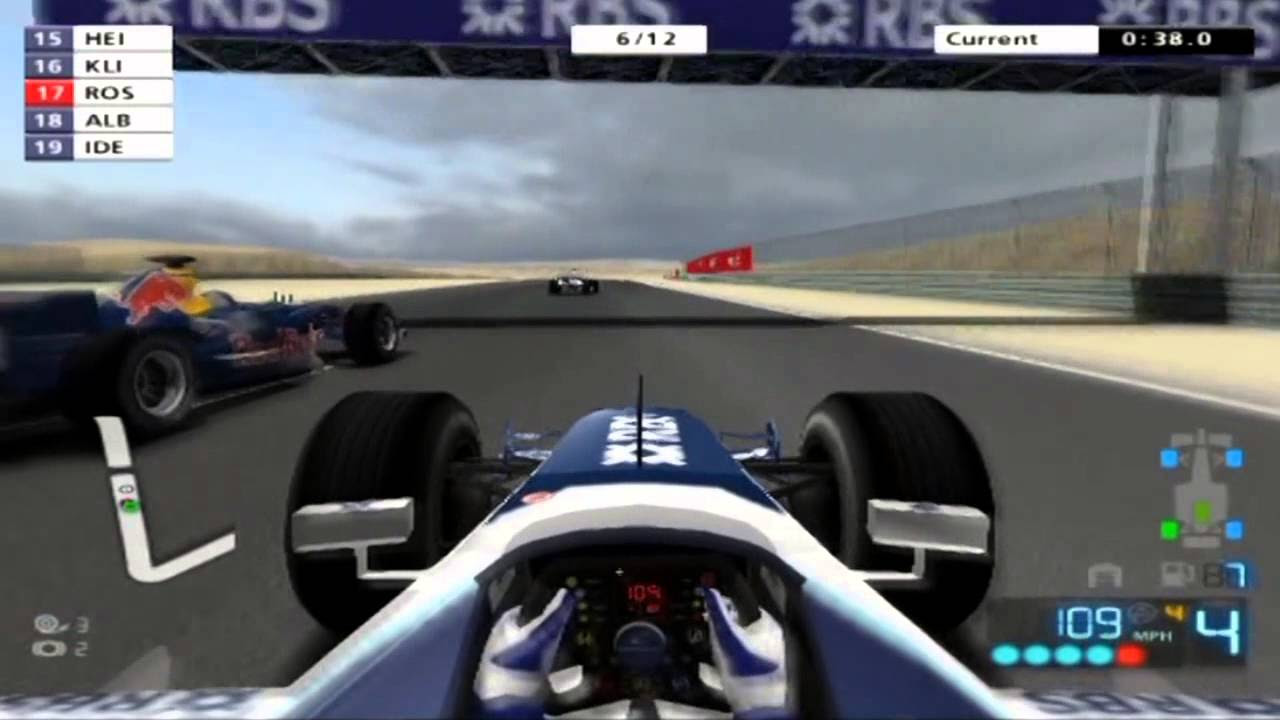 Nico Rosberg His First Race In F1 In A Williams In F1 2006 ...