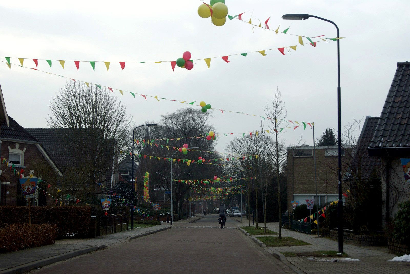 14.2, Today..they are celebrating Carnival in the Dutch neighborhoods.