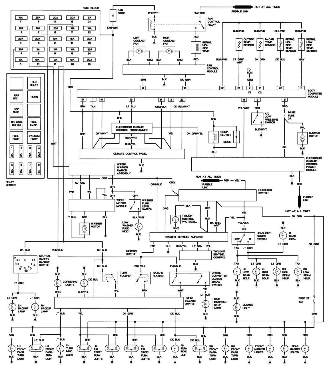 1993 Cadillac Wiring Diagrams Wiring Diagram Extend Extend Lechicchedimammavale It