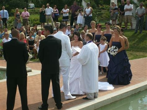Wedding Ceremony at Lakeside Rose Gardens. You can get